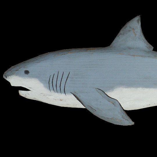 Sharks Great White Shark 3 Ft. By MorningStarDesign On Etsy, $128.00
