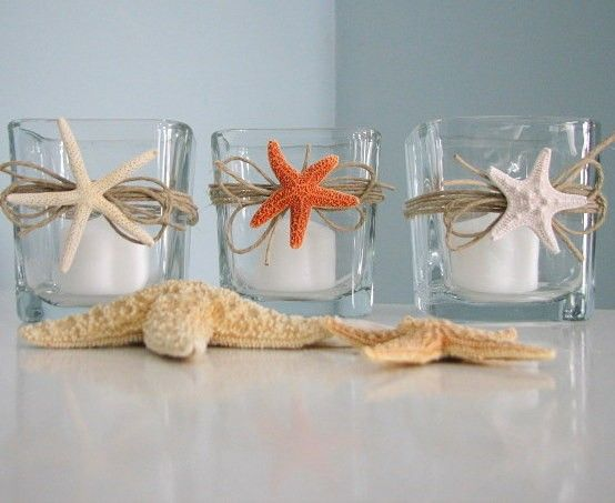 starfish candle votives