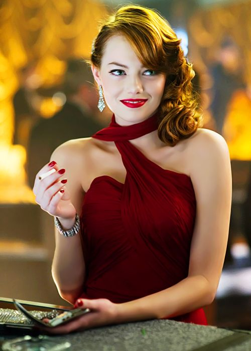 Emma Stone - it's been a while...time to see your gorgeous face on screen again!