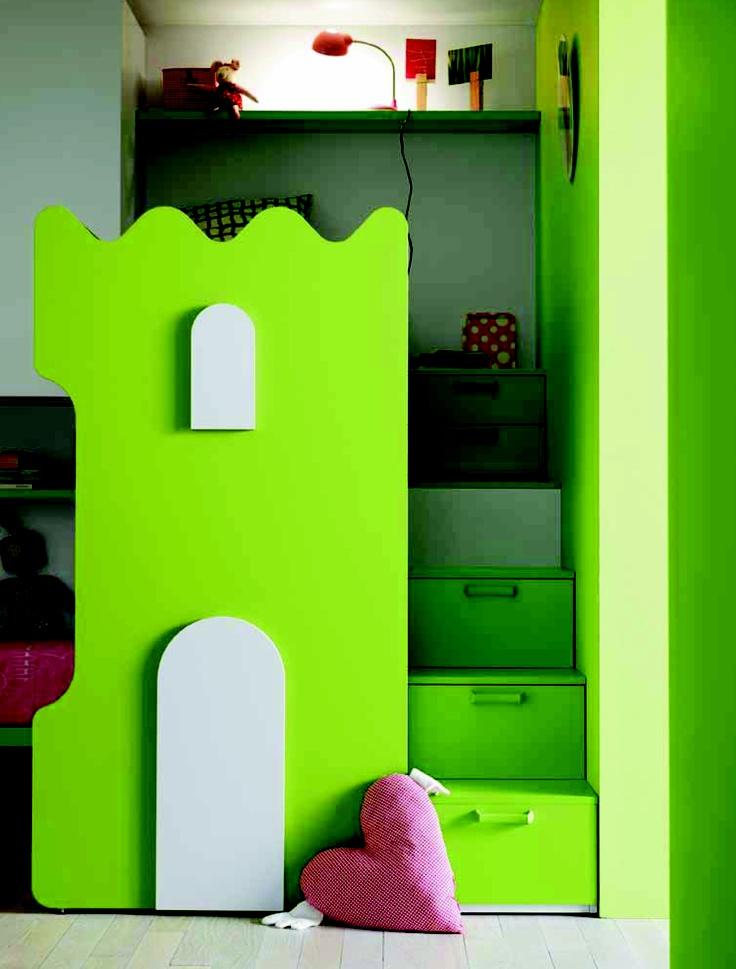 Klouxl kinderkamers ook als jongens en meisjes kamer te verkrijgen kinderbedden goodnightkidzz - Blauwe en grijze jongens kamer ...
