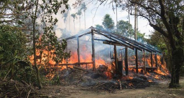 Wartawan BBC Jonathan Head bongkar propaganda palsu Buddha Myanmar soal Rohingya  Lebih dari 300.000 orang yang telah meninggalkan negara bagian Rakhine ke Bangladesh selama dua minggu terakhir semuanya berasal dari distrik Maungdaw Buthidaung dan Rathedaung wilayah terakhir di Myanmar dengan populasi Rohingya yang belum terusir ke kamp-kamp pengungsian.  Daerah-daerah ini sulit dijangkau. Jalannya buruk dan siapa pun yang mau ke sana harus meminta izin khusus yang jarang diperoleh wartawan…