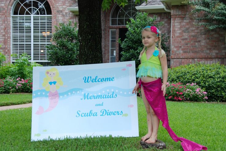 Love the wrap-around mermaid tails!