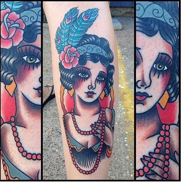 20 Best Tattoos of the Week – July 31th to Aug 06th, 2013 Traditional beautiful
