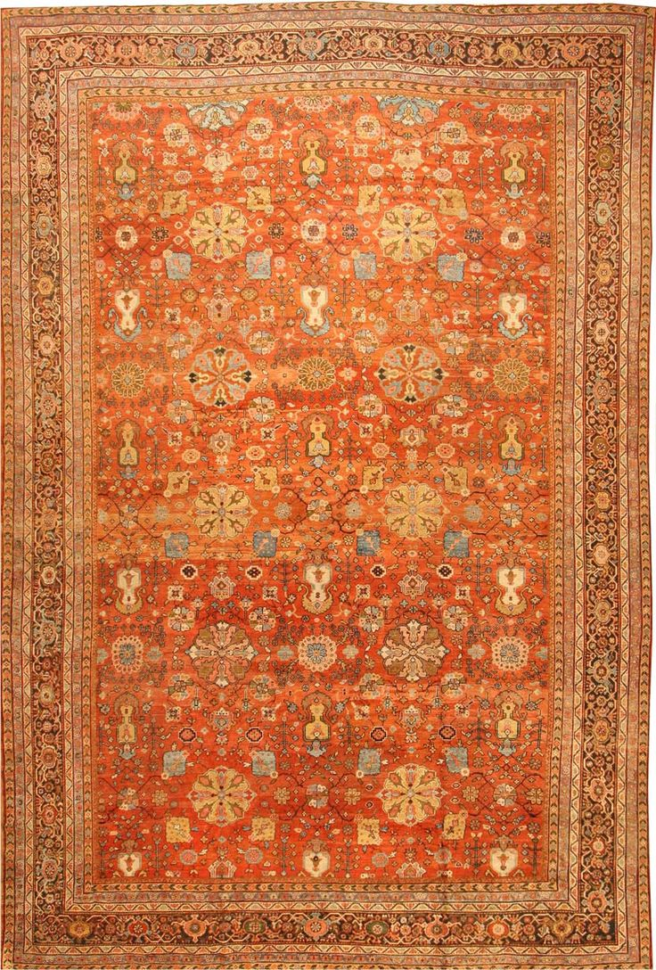 Sultanabad Rug | Antique Sultanabad Carpet | Persian Rugs | 41594