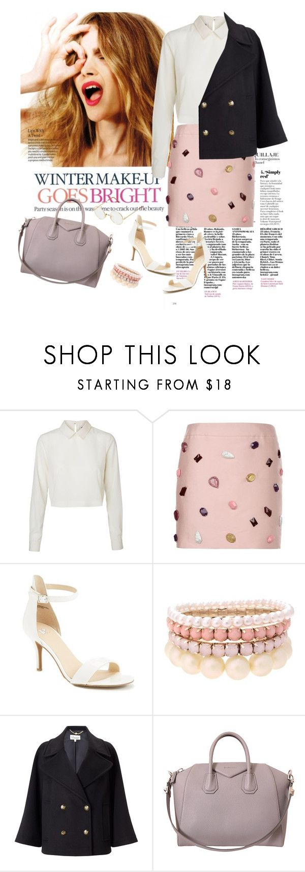 Rosè by elleandlary on Polyvore featuring moda, Vero Moda, Somerset by Alice Temperley, STELLA McCARTNEY, BP., Givenchy, Lipsy, Persol and Celestine