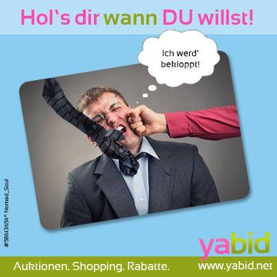 Diese #Deals hauen richtig rein! Jetzt bei #Yabid #zuschlagen und Wahnsinns-Schnäppchen #abräumen! Hol's dir wann DU willst! www.yabid.net
