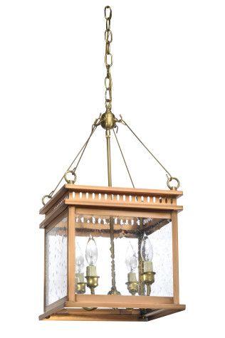 John Street collection hanging lantern.  Above breakfast bar