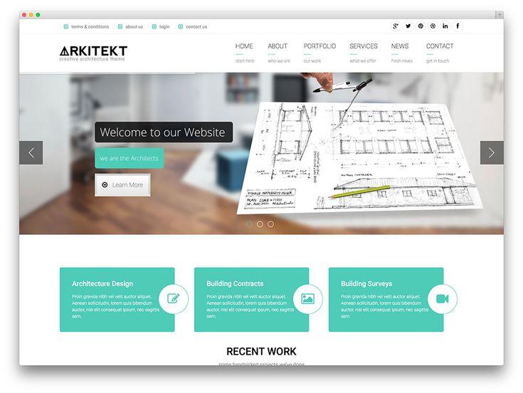 Arkitekt   Clean Architecture Wordpress Theme