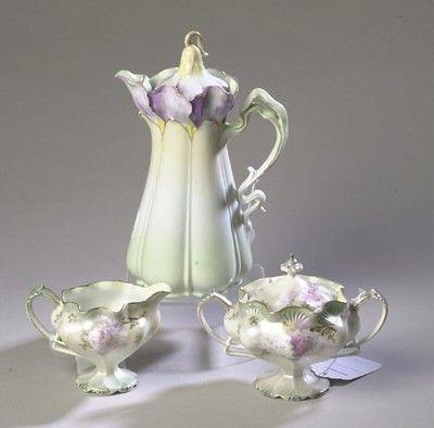 RS Prussia Tea Set