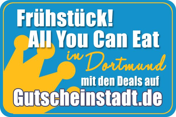Mit Glück günstiger zum #Frühstück #Allyoucaneat #Buffet in #Dortmund mit #Gutscheinstadt