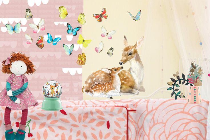 *moodboard* behang Roomblush: http://www.papiermier.be/nl/winkel/product/i/131434 muurstickers Chocovenyl: http://www.kokkie.be/nl/winkel/reeks/i/147736 beddengoed Little Big Room: http://www.kokkie.be/nl/winkel/artikel/i/144167 nachtlampje Djeco: http://www.kokkie.be/nl/winkel/artikel/i/152856 Pop Fanette Moulin Roty: http://www.kokkie.be/nl/winkel/artikel/i/43782 knutseldoos De geheime tuin Mon Petit Art: http://www.papiermier.be/nl/winkel/product/i/158093