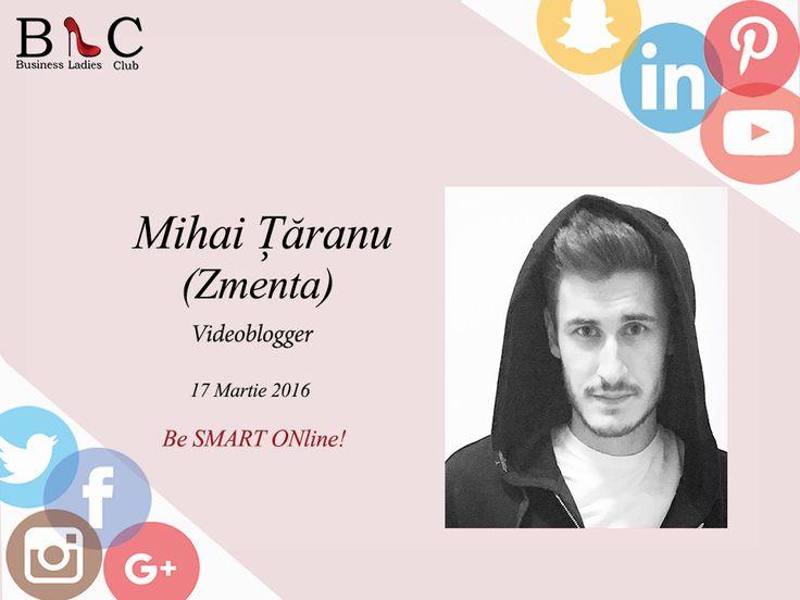 E oficial! Mihai Ţăranu (ZMENTA.ro) spune prezent! Ne vedem în 17 martie! (https://goo.gl/JQyaH2).  Înscrie-te acum și beneficiază de reducerea #Early_Bird: http://goo.gl/Hy1ipG  #BeSMARTONline