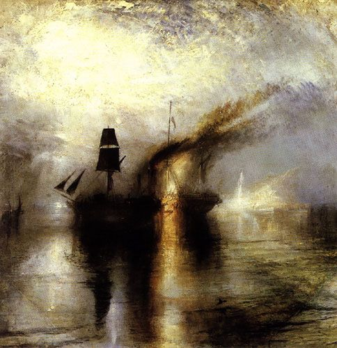 Joseph Mallord William Turner Peace - Burial at Sea
