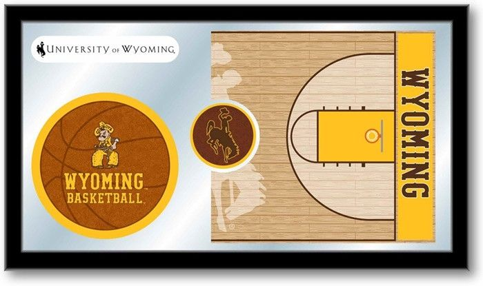 Wyoming Cowboys Basketball Sports Team Mirror at SportsFansPlus.com. Visit website for details!