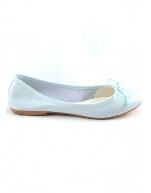 #Ballerina in pelle - Leather flat #shoes #scarpe #summer #estate www.andreinabarrila.com
