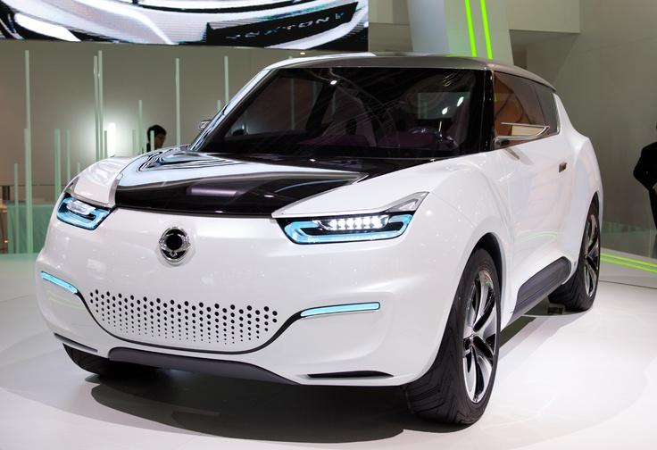 Захватывающий SsangYong e-XIV Concept