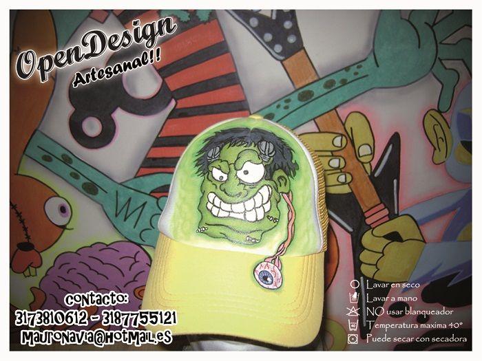 Frankenstein #PintadoAMano