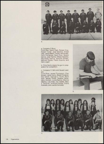 1975 McAllen High School Yearbook via Classmates.com