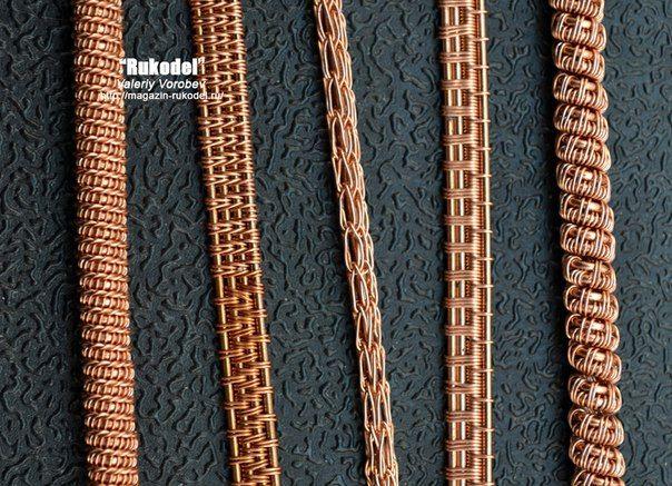 Wire wrap, Vikinq Knit украшения из проволоки. | ВКонтакте