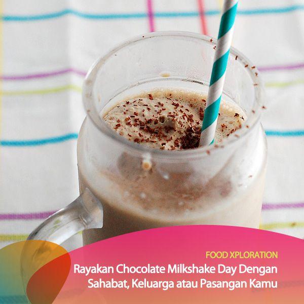 Yuk, racik sendiri Chocolate Milkshake kamu! Caranya bisa kamu contek di sini http://www.wikihow.com/Make-a-Chocolate-Milkshake