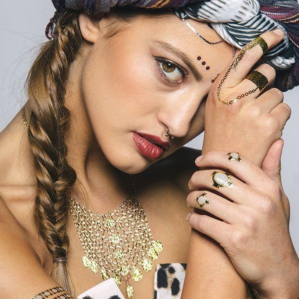 Jewelry inspired tattoos...!!!
