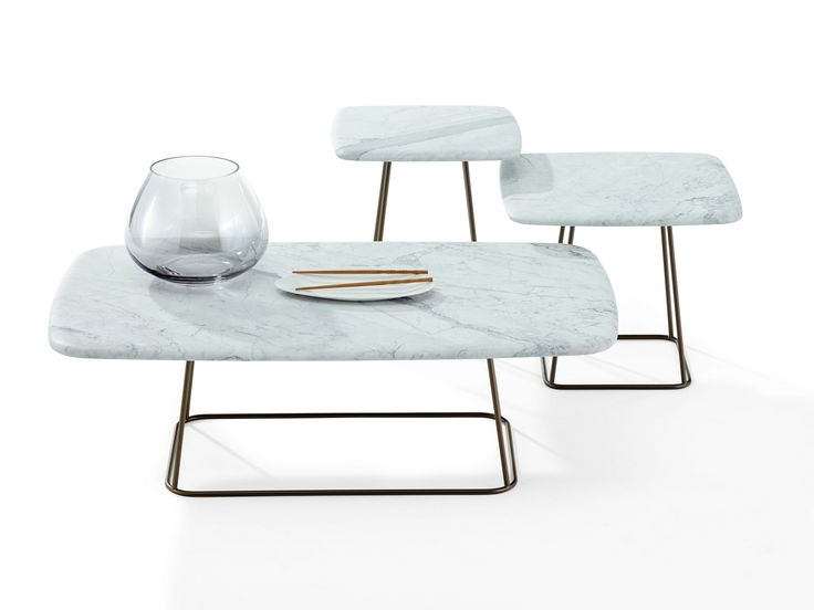 TABLE BASSE CARRÉE EN MARBRE MANOLO BY DRAENERT | DESIGN STEPHAN VEIT
