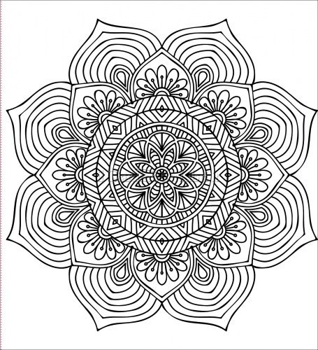 22 best mercatino images on pinterest coloring pages for Mandala facili da disegnare