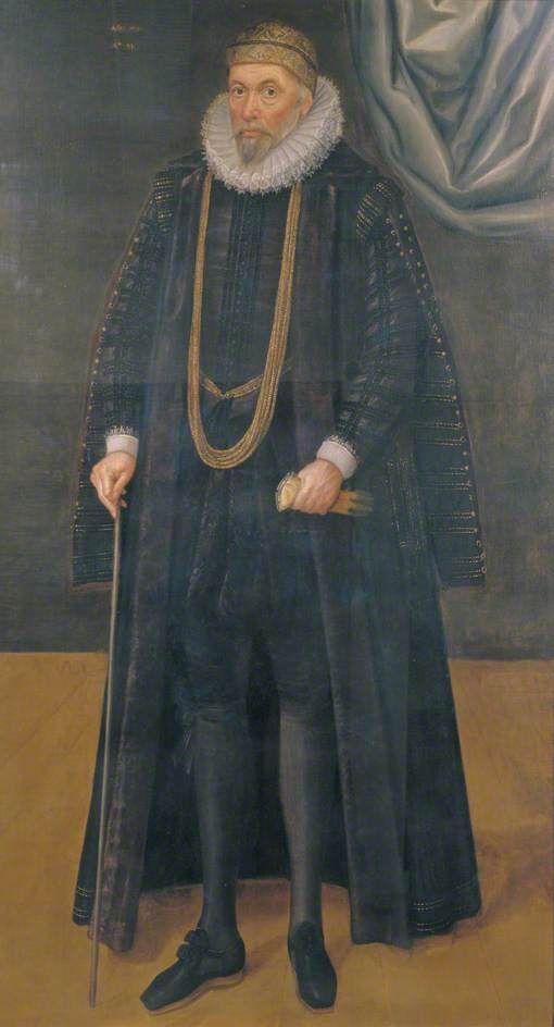1618, Sir John Garrard (c.1546–1625), Lord Mayor of London (1601). Daniel Mytens (c.1590–1647). Guildhall Art Gallery.