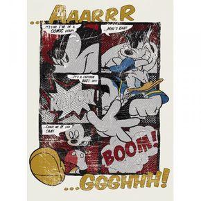 Ταπετσαρία τοίχου παιδική Μίκυ στυλ κόμικς MICKEY DISNEY184x254cm