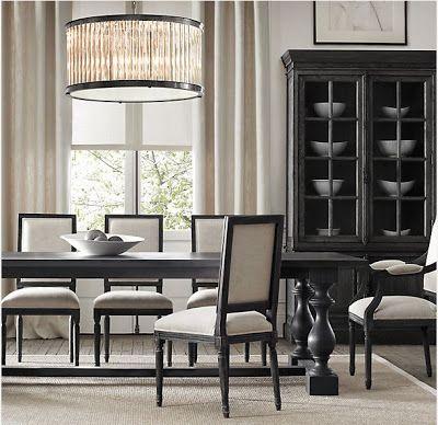 87 best images about dining room on pinterest hooker for Who manufactures restoration hardware furniture