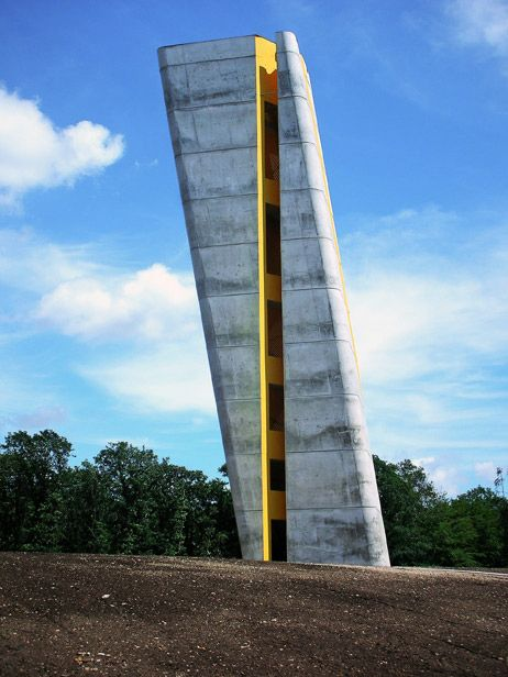 Nebra Observation Tower by Holzer Kobler Architekturen