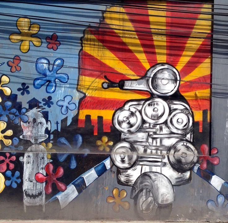 Mod street art
