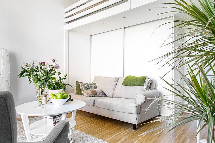 Lindo apartamento de apenas 24 metros quadrados for Sala de 9 metros quadrados