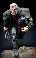 Old Man Logan with Baby Hulk and Upgrades (Marvel Legends) Custom Action Figure