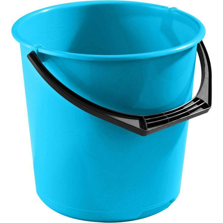 Bøtte NORDISKA PLAST 10 L turkis | Staples®