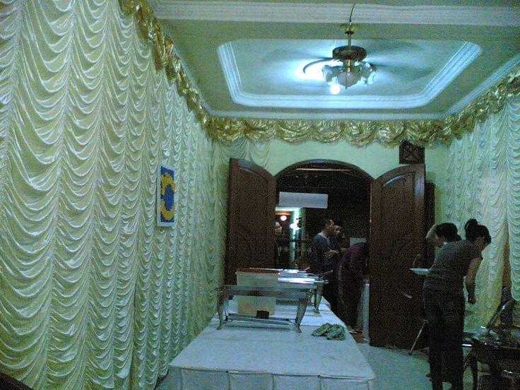 Dekorasi ruangan untuk wedding