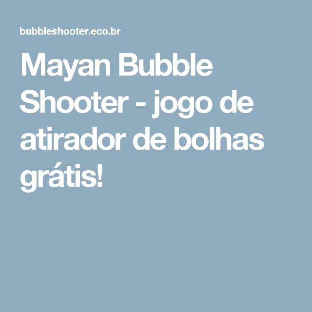 Mayan Bubble Shooter - jogo de atirador de bolhas grátis!