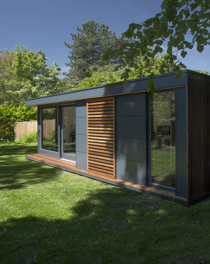 Best 25 contemporary garden rooms ideas on pinterest for Garden office buildings