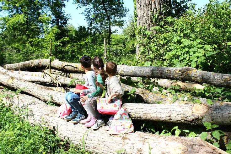 Kids, Leben mit Kindern, Tagesausflug, wir im Wald, Sigikid Forest Kollektion, Rucksack und Tasche für den Kindergarten oder den Ausflug, Natur, Naturentdecken, Kinder im Wald, Accessoires von Sigikid, mehr auf LifestyleMommy.de