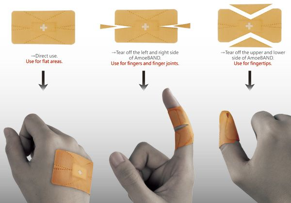 wow. need some of these band aids!