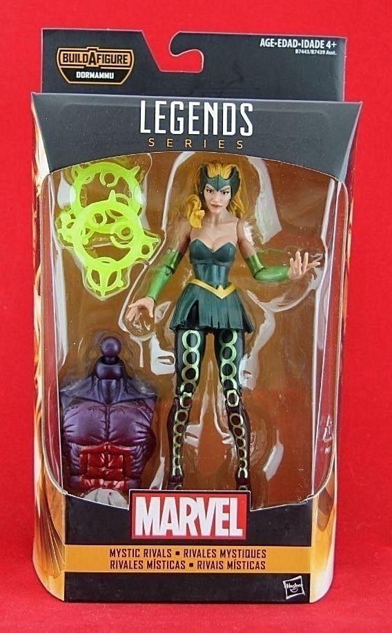 """Enchantress Amora Marvel Legends 6"""" Action Figure Doctor Strange BAF Dormammu  #Hasbro"""