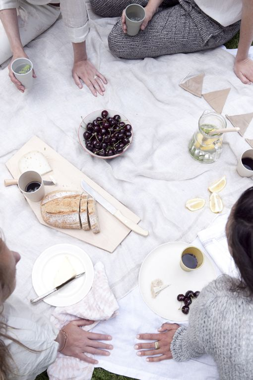 #gather #picnic #simplicity #food