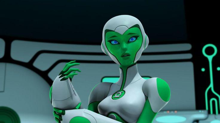 green+lantern+aya | Aya (Green Lantern: The Animated Series) - Green Lantern Wiki - DC ...