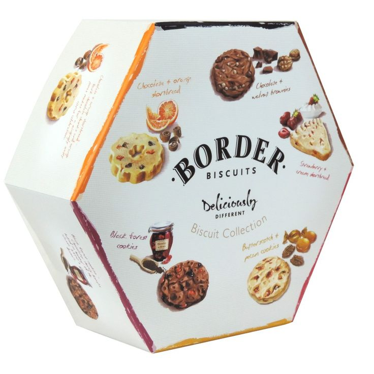 Border Biscuits - Deliciously Different - Biscuit Collection - 500g