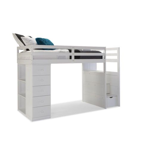 Canwood Mountaineer Twin Loft Bed With Storage Tower Built