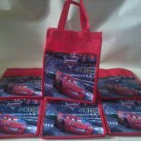 Tas souvenir ulang tahun cars