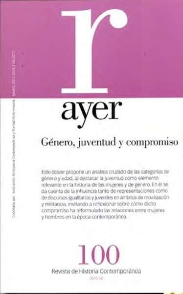 Revista Ayer (Revista de Ciencias Sociales, Filosofía e Historia), Editorial Marcial Pons. Director: Juan Luis Pan, 1990–2016 https://www.ahistcon.org/revistaayer.html