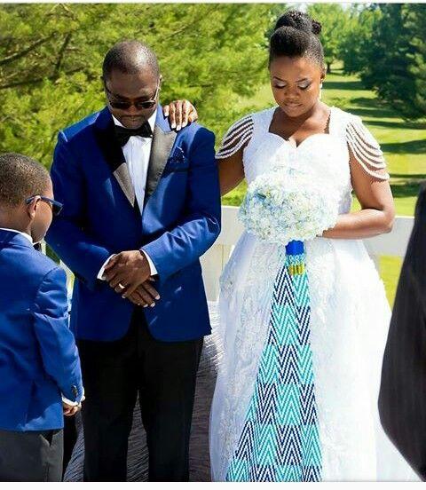Ghanian Wedding African American Brides Ankara Fashion Bride Gowns Weddings White Planners Bells Ghana