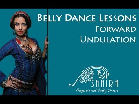 Belly Dance Lessons - Forward Undulation - YouTube