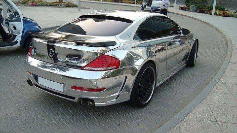 BMW e63 Chrome Edition